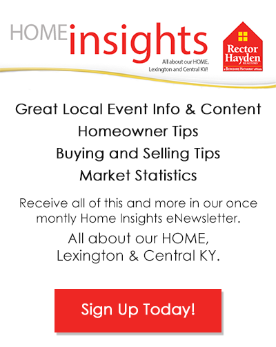 Sign Up Today for the Home Insights enewsletter