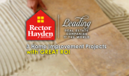 3 Home Improvement Projects with Great Return on Investment
