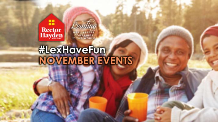 Lexington Events - November 2017